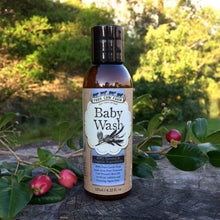 100% Natural Baby Wash 125ml / 4.22 fl.oz-Wash & Cleansers-Handcrafted Skincare-100% Natural and Organic Foodgrade Ingredients-Four Cow Farm Australia