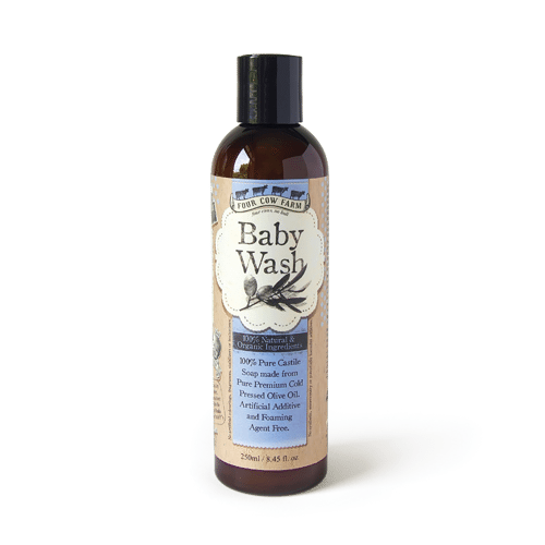 100% Natural Baby Wash 250ml / 8.45 fl.oz