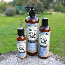 100% Natural Baby Wash 250ml / 8.45 fl.oz-Wash & Cleansers-Handcrafted Skincare-100% Natural and Organic Foodgrade Ingredients-Four Cow Farm Australia