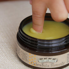 Calendula Remedy Balm (Mini) 7g-Balm-Handcrafted Skincare-100% Natural and Organic Foodgrade Ingredients-Four Cow Farm Australia