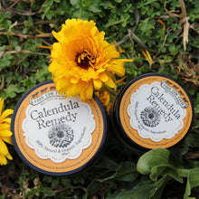 Calendula Remedy (Small) 50g-Balm-Handcrafted Skincare-100% Natural and Organic Foodgrade Ingredients-Four Cow Farm Australia