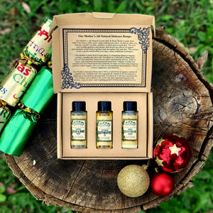 Mother's All-Natural Mini Gift Set-Handcrafted Skincare-100% Natural and Organic Foodgrade Ingredients-Four Cow Farm Australia