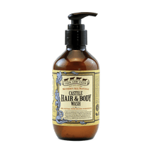 Mother's All-Natural Castile Hair and Body Wash 185ml / 6.25 fl.oz-Handcrafted Skincare-100% Natural and Organic Foodgrade Ingredients-Four Cow Farm Australia