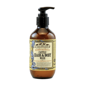 Mother's All-Natural Castile Hair & Body Wash 185ml / 6.25 fl.oz-Handcrafted Skincare-100% Natural and Organic Foodgrade Ingredients-Four Cow Farm Australia