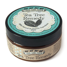 Tea Tree Remedy (Large) 100gm-Balm-Handcrafted Skincare-100% Natural and Organic Foodgrade Ingredients-Four Cow Farm Australia