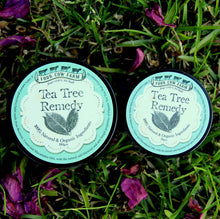 Tea Tree Remedy 100gm-Balm-Handcrafted Skincare-100% Natural and Organic Foodgrade Ingredients-Four Cow Farm Australia