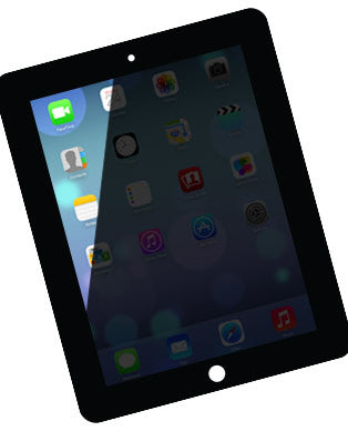 iPad 2 Backlight Dim Screen