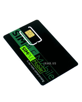 Simple Mobile Wireless Sim Card