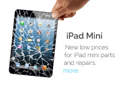iPad Mini - New Low prices for iPad Mini parts and repairs