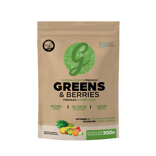 Greens & Berries Premium Superfoods, 30 Portions
