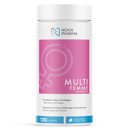 Multi Femme, Women's Multivitamins, 120 caps