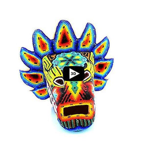 The Head of Quetzalcoatl - Tierra Huichol