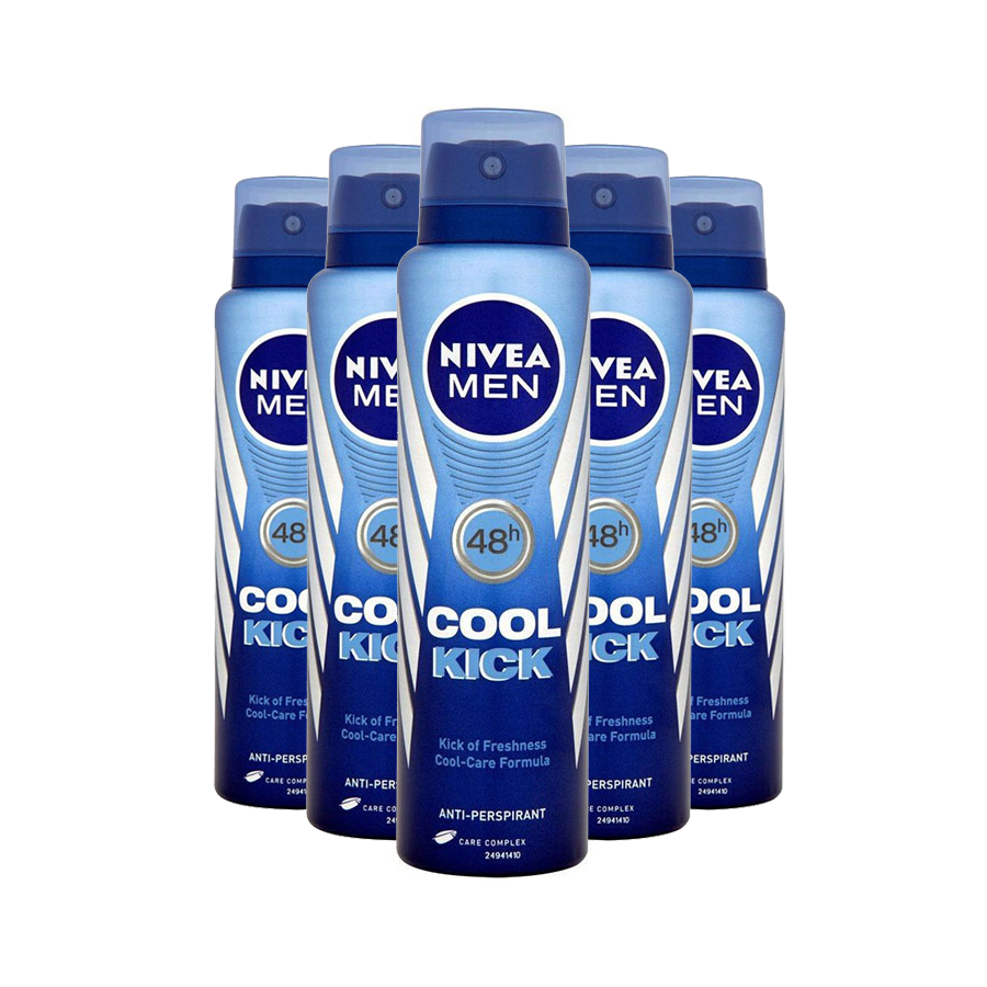 Nivea Mens Deodorant Cool Kick 150ml