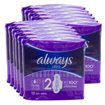 Always Ultra Long With Wings 12s (Pack of 12 x 12s)