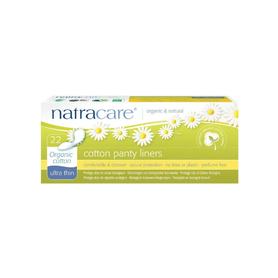 Natracare Cotton Panty Liners Ultra Thin 22s