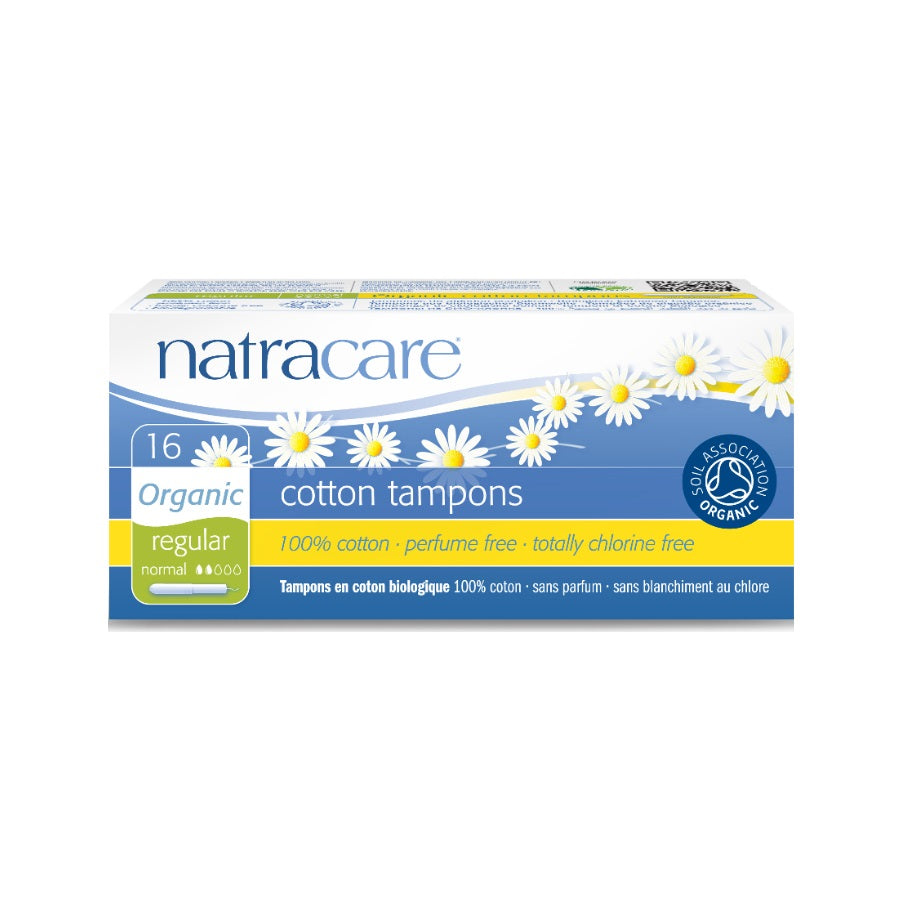 Natracare Regular Tampons With Applicator 16s