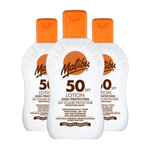Malibu SPF50 Sun Lotion 100ml (Pack of 3 x 100ml)