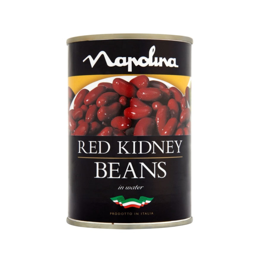 Napolina Red Kidney Beans in Water (Pack of 12 x 400g)