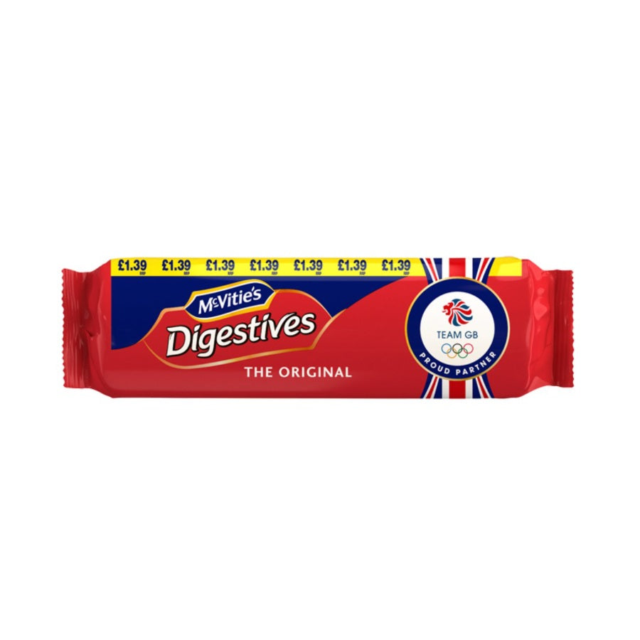 McVitie's Digestives Original Biscuits (Pack of 12 x 400g)