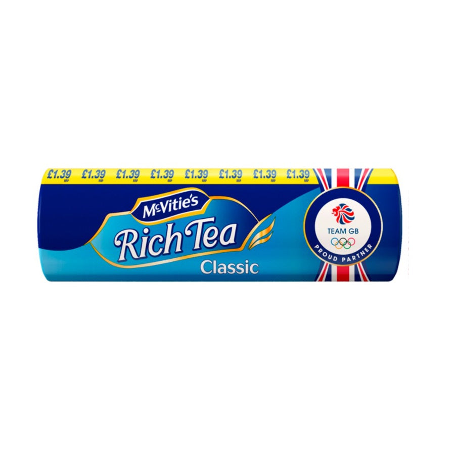 McVitie's Rich Tea Biscuits (Pack of 12 x 300g)