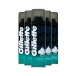 Gillette Shaving Foam Sensitive 200ml (Pack of 6 x 200ml)
