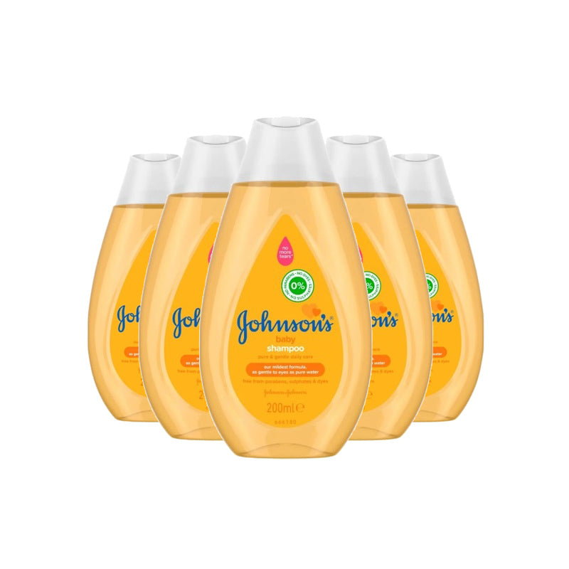 Johnson's Baby Shampoo 200ml (Pack of 6 x 200ml)