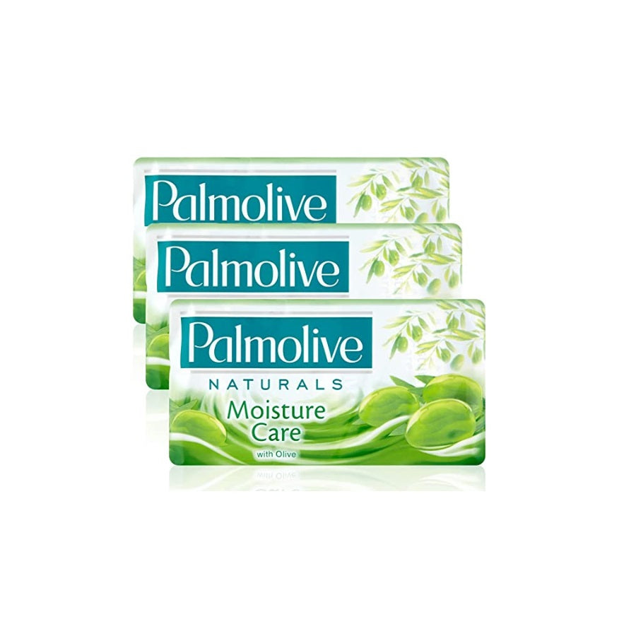 Palmolive Naturals Moisture Care Soap 90g (Pack of 3 x 90g)