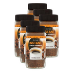 Best-One Instant Coffee Granules Medium Roast (Pack of 6 x 100g)