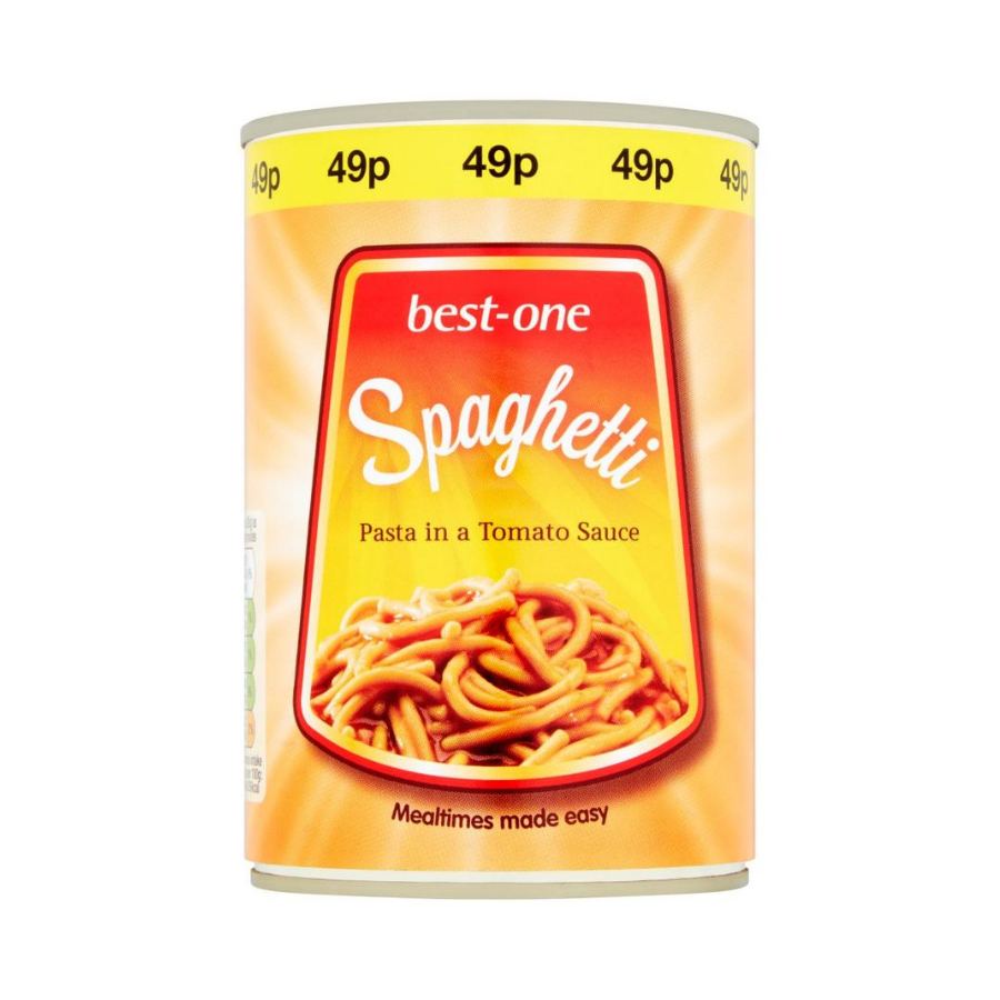 Best One Spaghetti PM £0.49 (Pack of 6 x 400g)