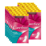 Carefree Normal Pantyliners with Cotton Extract 20s (Pack of 12 x 20s)