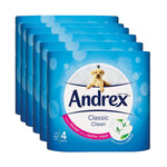 Andrex Toilet Roll 4s White