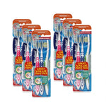 Wisdom Regular Fresh Toothbrush Medium (Triple Pack) (Pack of 6 x 3)