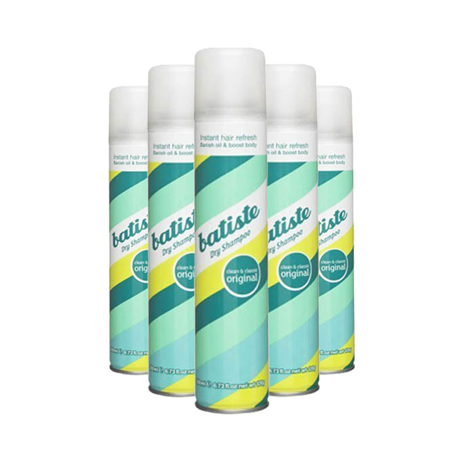 Batiste Dry Shampoo Spray Original 150ml (Pack of 6 x 150ml)