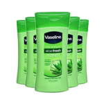 Vaseline Lotion Aloe Fresh 200ml (Pack of 6 x 200ml)