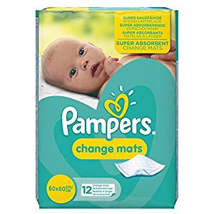 Pampers Change Mats 12s