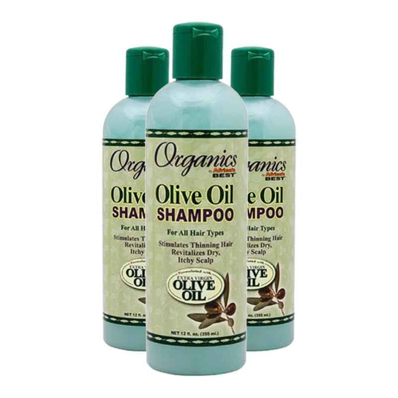 Africa's Best Organics Olive Oil Shampoo 355ml