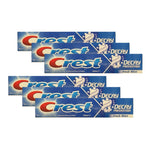 Crest Toothpaste Decay Prevention Fresh Mint 100ml (Pack of 6 x 100ml)