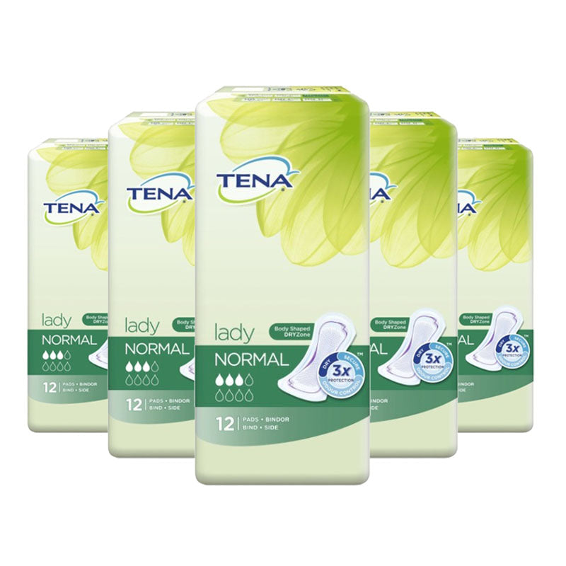 Tena Lady Normal Pads 12s