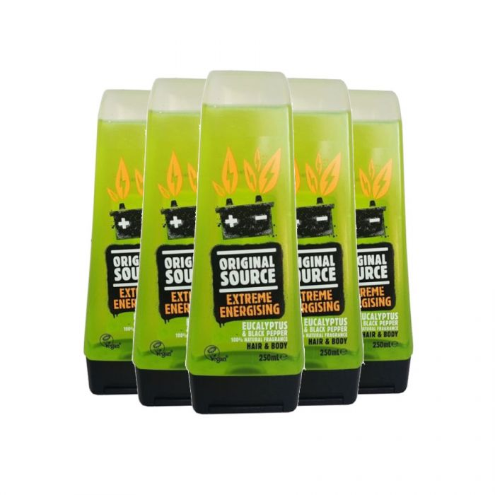 Original Source Shower Gel Extreme Energising Eucalyptus 250ml