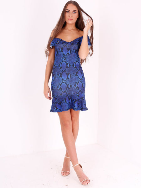 Bardot Fill Hem Bodycon Dress - Inoxclothing