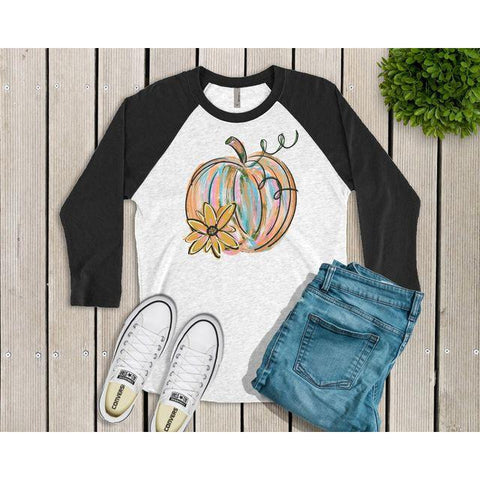 Painted Pumpkin Raglan
