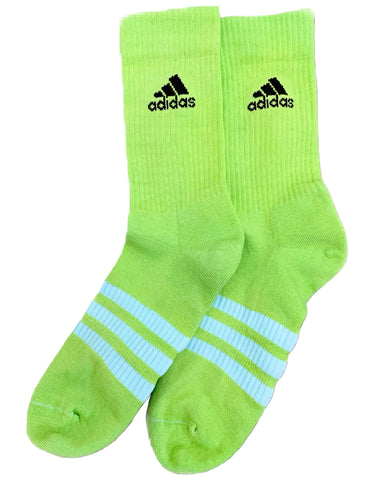ADIDAS COLOURED SOCKS - IBIZA GREEN