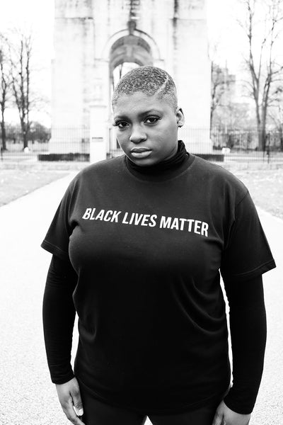 BLACK LIVES MATTER SMALL TEXT