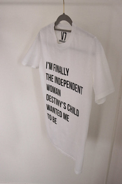 independent woman t-shirt