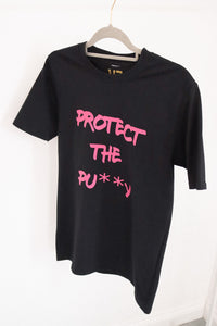 protect the pu**y t-shirt - sample