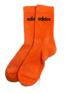 ADIDAS COLOURED SOCKS FRESH ORANGE