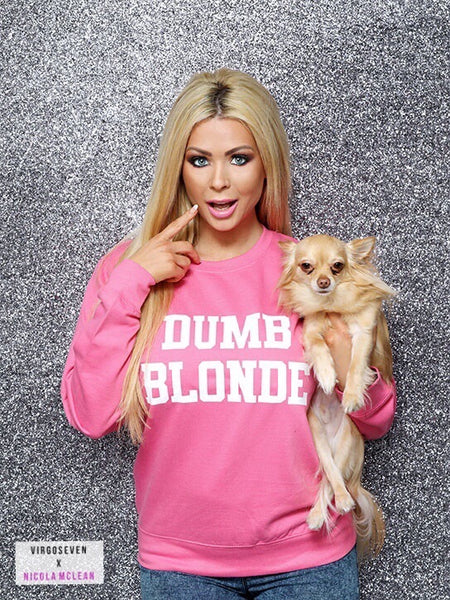 Nicola Mclean Collection Dumb Blonde