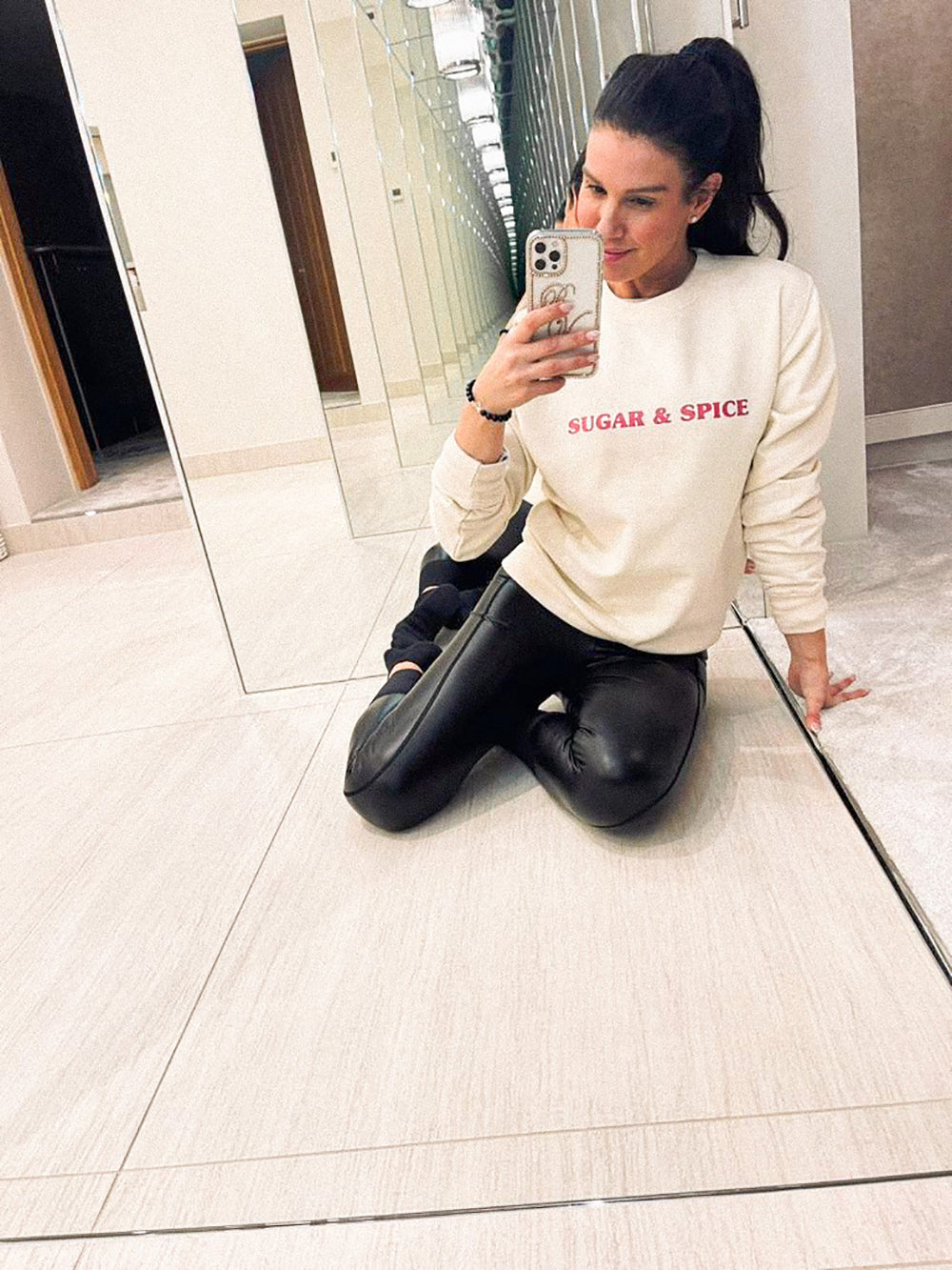 rebekah vardy sugar and spice sweater