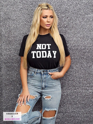 NICOLA MCLEAN NOT TODAY
