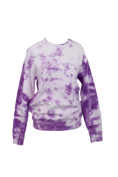 TO DYE FOR VIOLET SWEATSHIRT